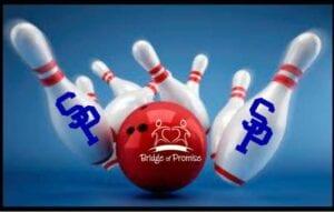 Let's Go Bowling logo